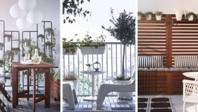Beautiful balcony furniture ideas anyone can afford