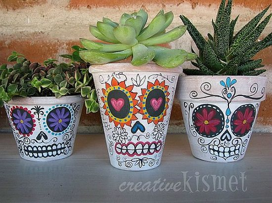 11 DIY Halloween Planters That Will Amaze You