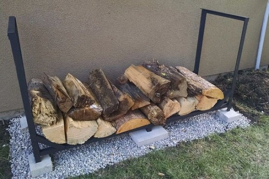 DIY Firewood Racks 14