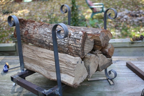 DIY Firewood Racks 15