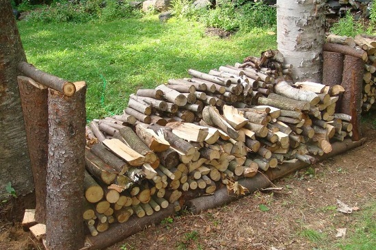 DIY Firewood Racks 16