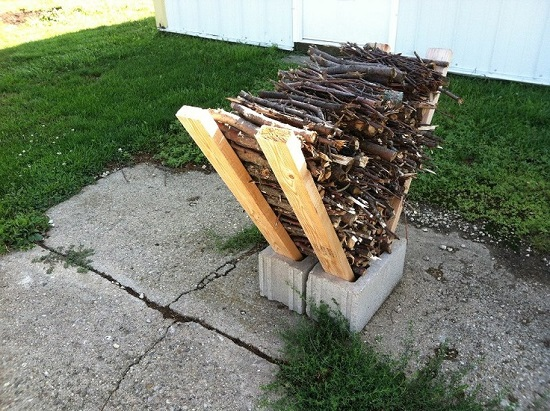 DIY Firewood Racks 2