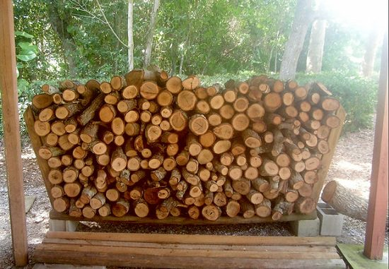 DIY Firewood Racks 4