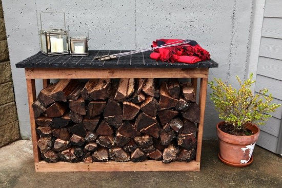 DIY Firewood Racks 5