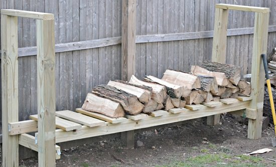 DIY Firewood Racks 7