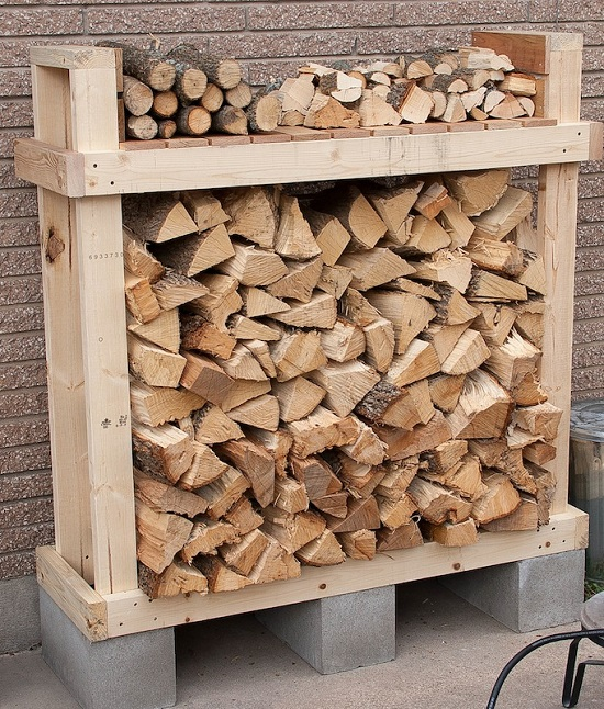 DIY Firewood Racks 9