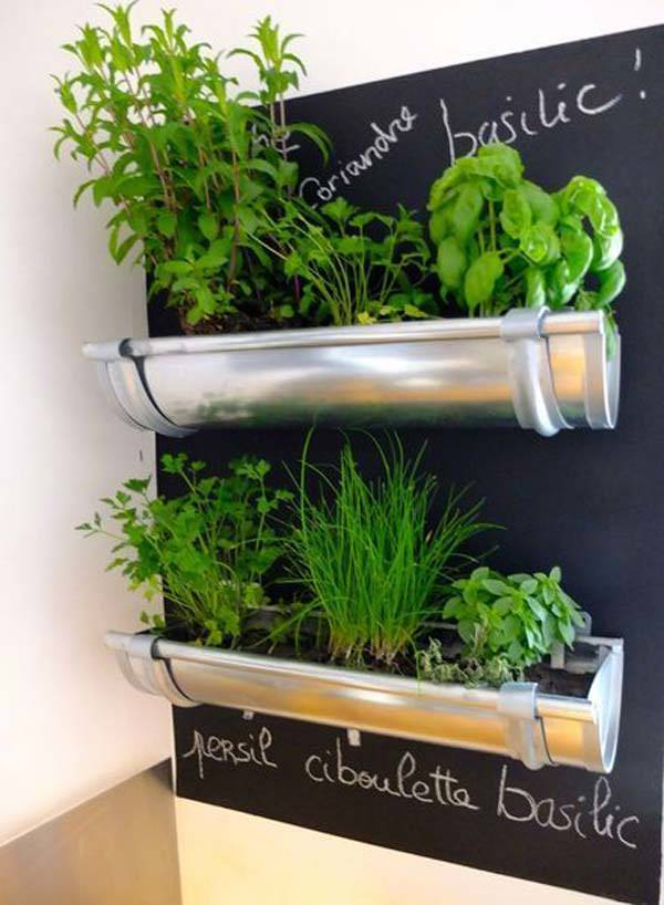 Indoor Small Herb Gardens 17