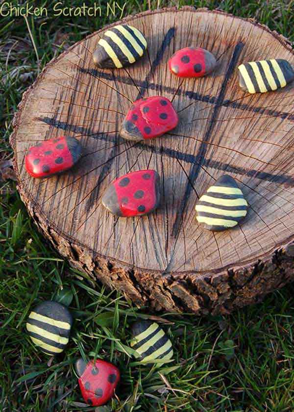 Tree Stump Decorations 11