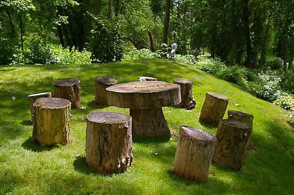 Tree Stump Decorations 14