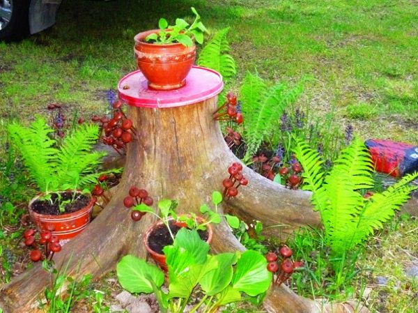 Tree Stump Decorations 5