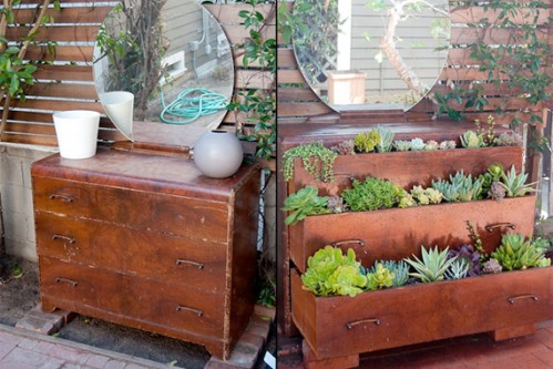 space-saving decorative garden ideas 1
