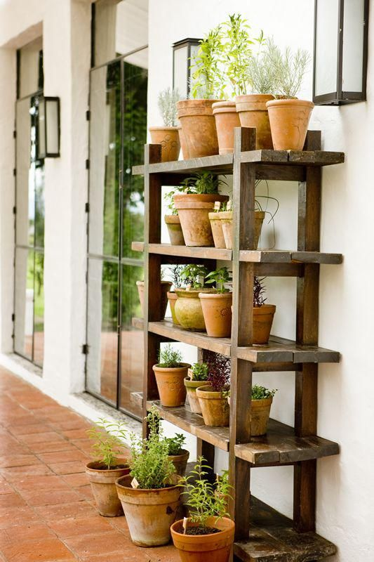 space-saving decorative garden ideas 12
