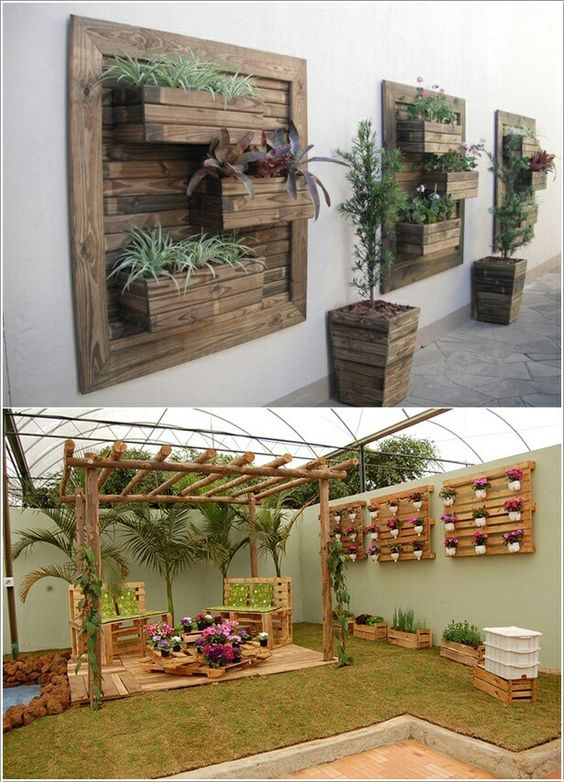 space-saving decorative garden ideas 15