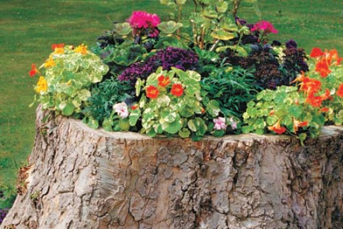space-saving decorative garden ideas 6
