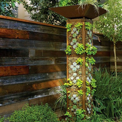 space-saving decorative garden ideas 7